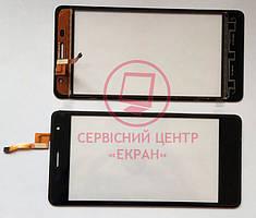 Oukitel K4000 Pro сенсорний екран, тачскрін чорний