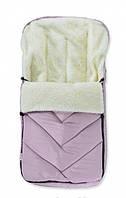 Зимний конверт для новорожденных,  в санки\коляску, чайная роза