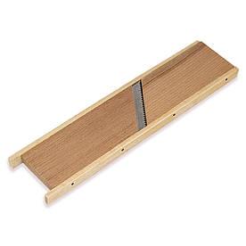 Терка Kamille 26х6.5х1см деревянная для морковки по-корейски KM-10080