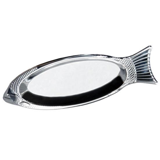 Блюдо для рыбы Kamille из нержавеющей стали 35см - Kamille Shop в Одессе