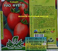 Высокоурожайный среднеранний низкорослый томат с сливовидно-округлыми красными плодами сорт Рио фуего