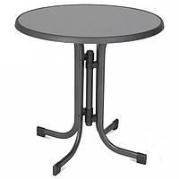 Стол для кафе DINE pizzara/ antracyt  D 70х72см
