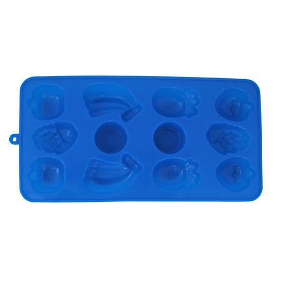 Форма Kamille силіконова для льоду 21.5*11*1.5 см KM-7712