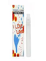 Мини парфюм Moschino Cheap and Chic I Love Love (Москино Чип энд Чик Ай Лав Лав) 10 мл (реплика)