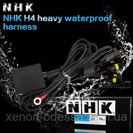 NHK VIP version ВОДОНЕПРОНИЦАЕМОЕ реле с двойной защитой + проводка для установки би-линз, фото 2