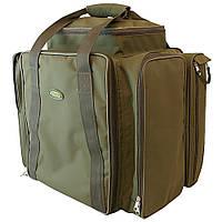 Рыбацая сумка карповая Acropolis РСК-2 (2 коробки, 8 катушек и аксессуары)