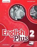 Рабочая тетрадь English Plus 2 Second Edition Workbook + MultiRom