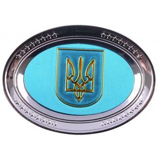 Магнит с национальной символикой (тарелка) UK127 - ТехнОстров-Компани. Товары Оптом из Китая в Харькове