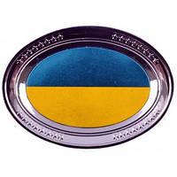 Магнит с национальной символикой (тарелка) UK-128