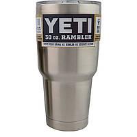 Чашка дорожная YETI Rambler Tumbler Mindo 30 OZ  890 мл нерж сталь двойные стенки с крышкой разных цветов