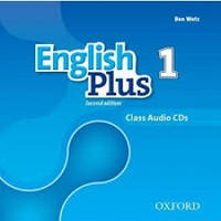 Аудио диски к English Plus 1 Second Edition (Class Audio CDs)