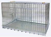 Клетка ВОВК ДУЭТ транспортная дует для собак и кошек. Клетка Волк дуэт 100*55*49 см