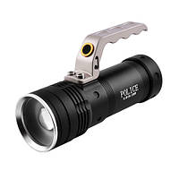 Фонарь переносной Police KD-004,12000W T6 + 2 аккумулятора