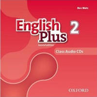 Аудио диски к English Plus 2 Second Edition (Class Audio CDs)