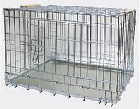 Клетка ВОЛК-3 для  собак и кошек  №3. ВОВК-3 124х78х71см
