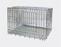 Транспортная клетка ВОЛК Лори для собак и кошек. Клітка ВОВК, 75*54*48 см