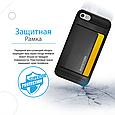 Чехол для iPhone Promate cardCase-I7 Black, фото 3
