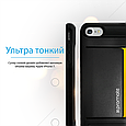 Чехол для iPhone Promate cardCase-I7 Black, фото 4