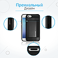 Чехол для iPhone Promate cardCase-I7 Black, фото 5