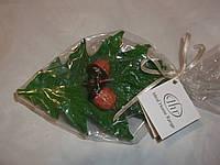 Свеча дубовый лист с желудем