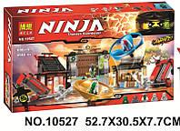 """Конструктор Bela Ninja 10527 """"Боевая площадка для аэроджитцу"""" 686 дет"""