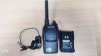 Радиостанция Zastone ZT-V6 + с bluetooth гарнитурой