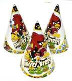 """Колпаки """"Angry Birds"""" 16см"""