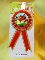 """Медаль детская """"Angry Birds"""""""