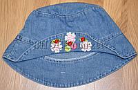 Панама джинсовая для девочки
