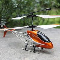 Радиоуправляемый вертолет helicopter RC Double Horse 9098 оранжевый