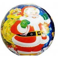 """Фольгированный шарик """"Новогодний"""", круглый, 45см"""