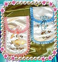 Свадебные конверты для денег (пара)