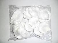 Искусственные лепестки роз, белые, 150шт/уп