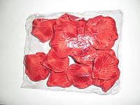 Искусственные лепестки роз, красные, 150шт/уп