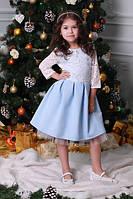 Детское праздничное нарядное платье