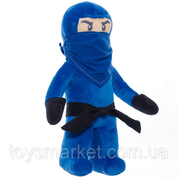 Мягкая игрушка детская Лего Ниндзяго Джей