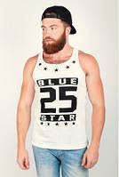 Майка мужская стильная Blue star