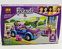 """Конструктор Bela """"Крутой кабриолет Стефани"""" 130 деталей арт.10167 (аналог LEGO Friends 3183)"""