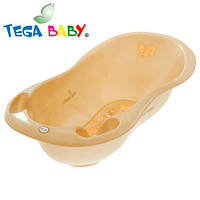 Детская ванна большая Tega 102 см MS-005 Teddy Bear капучино