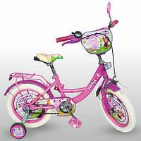 Детский двухколесный велосипед 14д. LT 0051-02 W  Лунтик