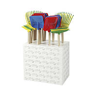 Набор грабли и лопаты Rolly Toys 24шт 4цвета