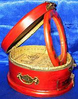 Оригинальная деревянная шкатулка трюмо