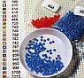 Набор алмазной вышивки Влюбленные под зонтом 30 х 30 см (арт. FS366) , фото 5