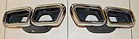 Mercedes S S-Class W222 2014+ S63 AMG насадки на глушитель Новые Оригинал
