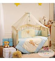 Постельный комплект для новорожденного  Tiny Love  голубой (7 предметов)