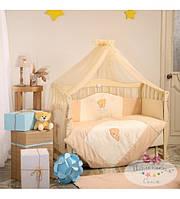 Постельный комплект для новорожденного  Tiny Love  шоколадный (7 предметов)