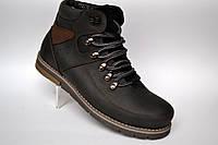 Кожаные зимние мужские ботинки Rosso Avangard. Major Payne Street черные, фото 1