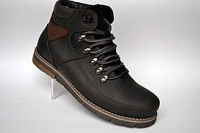 Шкіряні зимові чоловічі черевики Rosso Avangard. Major Payne Street чорні