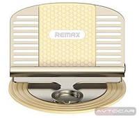 Автомобильный держатель REMAX Letto ✓ цвет: золотой