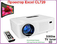 Проектор Excel V CL720 LED 3000 Люмен + TV tuner